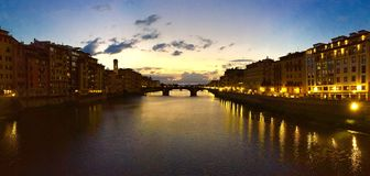 Florence Sunset stockfotografie