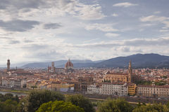 Florence sunset Stock Photography