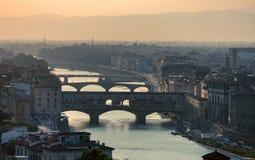 Florence After Sunset fotos de stock royalty free