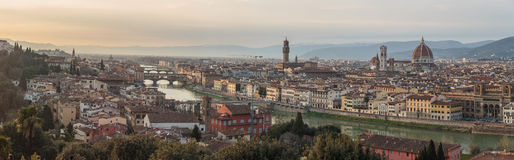 Florence at sunset, Italy Stock Photo