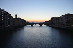 Florence Sunset Stock Image