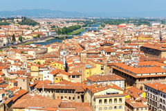 Florence. Top view Stock Image