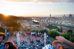 Florence touristic Stock Image