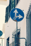 Florence traffic signs Stock Image