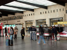 Florence train station Stock Images