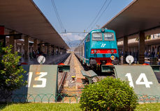 Florence. Train Station Royalty Free Stock Photography