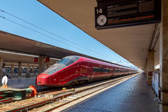 Florence. Train Station Royalty Free Stock Photos