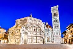 Florence Tuscany, Italien - Catedrale di Firenze Fotografering för Bildbyråer