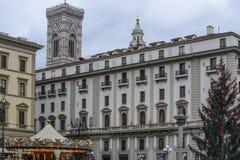 Florence, tuscany, italy, europe, christmas festivities Stock Photography