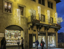 Florence, tuscany, italy, europe, christmas festivities Royalty Free Stock Photos