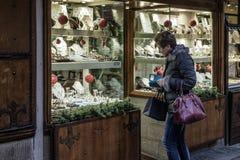 Florence, tuscany, italy, europe, christmas festivities Royalty Free Stock Image