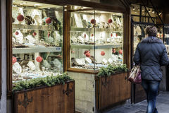 Florence, tuscany, italy, europe, christmas festivities Royalty Free Stock Photos