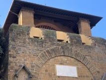 Florence Tuscany Italy. Porta San Gallo on Piazza della Liberta,. Florence Tuscany Italy, November 22th, 2018. Porta San Gallo on Piazza della Liberta stock images