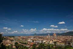 Florence, Tuscany, Italy. View of Florence, Tuscany, Italy stock photos