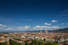 Florence, Tuscany, Italy. View of Florence, Tuscany, Italy royalty free stock images