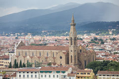Florence, Tuscany, Italy. View of the Dome in Florence, Tuscany, Italy royalty free stock photo
