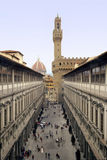 Florence uffizi royalty free stock photo