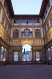 Florence - Uffizi gallery Royalty Free Stock Photo