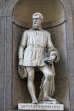 Florence uffizi statue Benvenuto Cellini Royalty Free Stock Photo