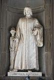 Florence uffizi statue Lorenzo il Magnifico Stock Photos