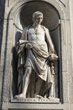 Florence uffizi statue Nicola Pisano Royalty Free Stock Photo