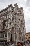 Florence, UNESCOarv och hem till den italienska ren?ssans som, ?r full av ber?mda monument och konstverk ?ver hela v?rlden royaltyfria foton