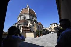 Florence van Duomo Stock Foto's