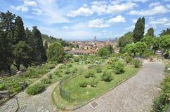 Florence van Rose Garden Royalty-vrije Stock Afbeeldingen