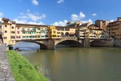 Florence - Vecchio Bridge Stock Photography