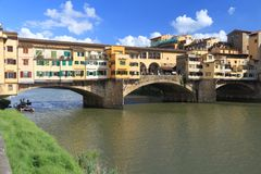 Florence - Vecchio Bridge Stock Photos