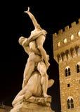 Florence - Verkrachting van Sabines royalty-vrije stock afbeelding