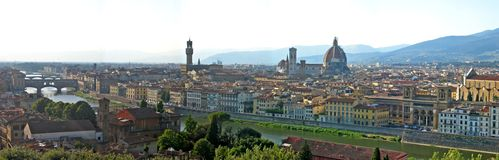 Florence View Stock Image