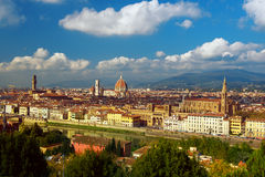 Florence View from above Royalty Free Stock Images