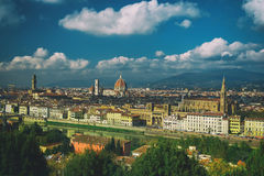 Florence View from above Stock Images