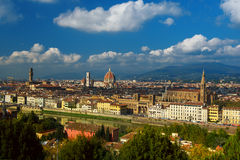 Florence View from above Royalty Free Stock Photos