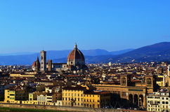 Florence. The view of the city of Florence, Italy Stock Photography