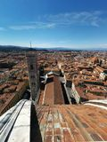 Florence view from Dome. View of Florence in Italy from Dome cupola Stock Images