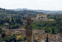 Florence view from Duomo Royalty Free Stock Photo