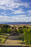 Florence view from the garden of Boboli Royalty Free Stock Image