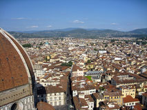Florence. View of Florence,Italy, taken from top of bell tower Stock Image