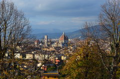 Florence. View over Florence Firenze Italy stock image