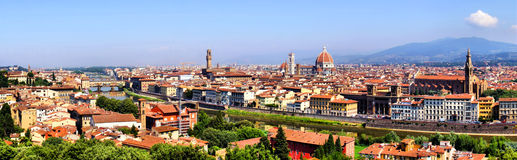 Florence view Royalty Free Stock Photos