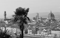 Florence view from piazzale Michelangelo Royalty Free Stock Photos