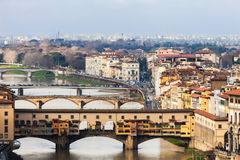 Florence, View Of Ponte Vecchio Royalty Free Stock Image