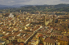 Florence view, Tuscany, Italy. Stock Photos