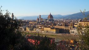 florence Włoch sunset Toskanii zbiory