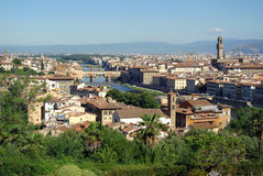 florence Włoch widok obrazy royalty free