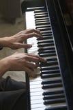 florence Włoch pianisty Obraz Royalty Free