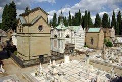 Florence Włoch stary cmentarz Zdjęcia Royalty Free