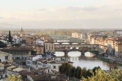 florence Włoch sunset Toskanii Fotografia Royalty Free